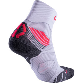 UYN Run Trail Challenge Socks Women white/coral fluo